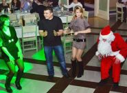 Зустріч з Санта Клаусом та Сантінкою