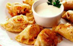 Смажені вареники з картоплею